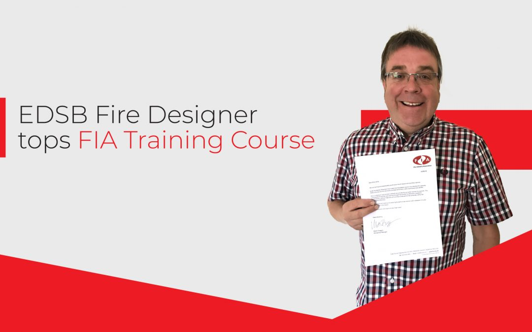 EDSB Fire Designer Tops FIA Qualification Course
