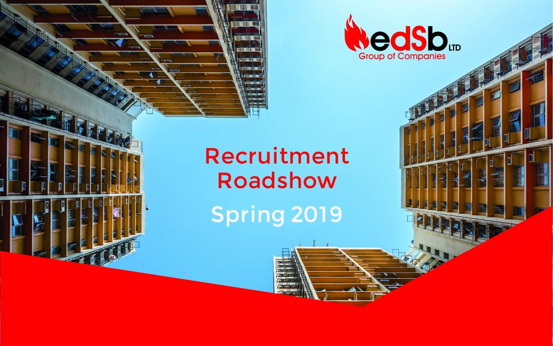 EDSB Recruitment Roadshow – Spring 2019