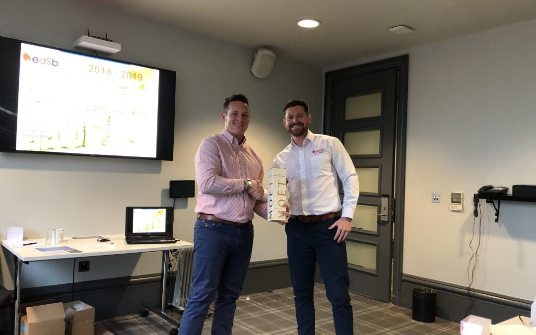 Adam Cramp Tops EDSB Sales League