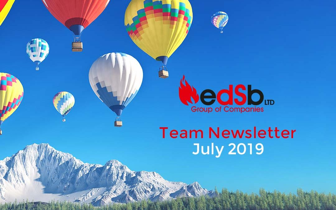EDSB Newsletter – July 2019
