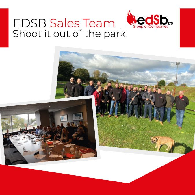 EDSB Sales team Shoot it out of the park