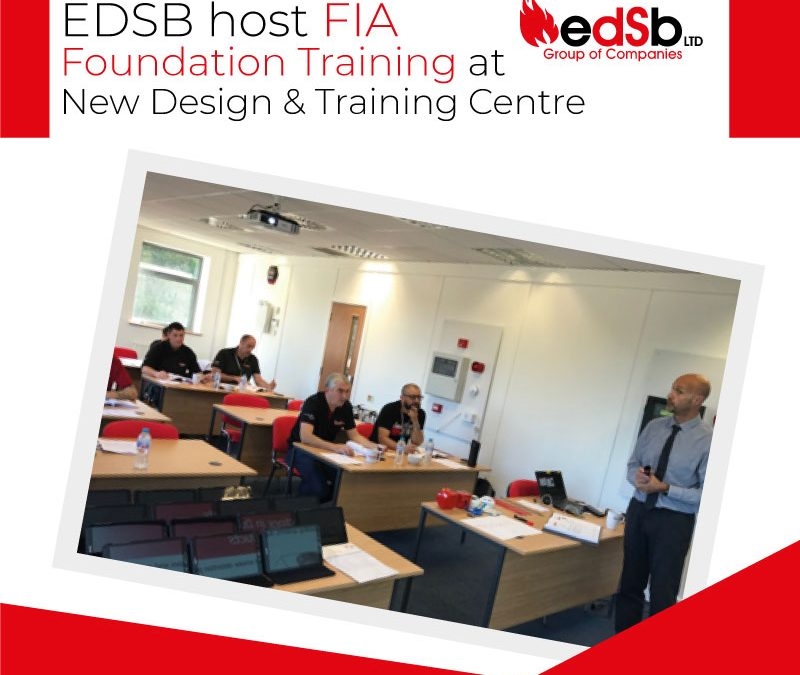 EDSB host FIA Foundation training at new Design & Training Centre