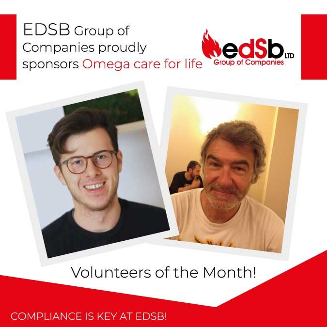 EDSB Group of Companies proudly sponsors Omega care for life
