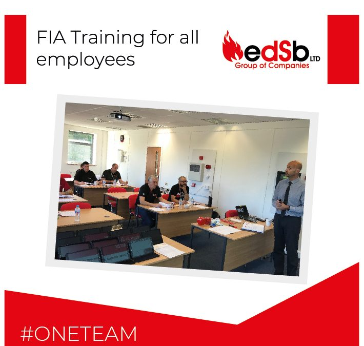 EDSB strengthens its service offering by providing FIA Training for all employees