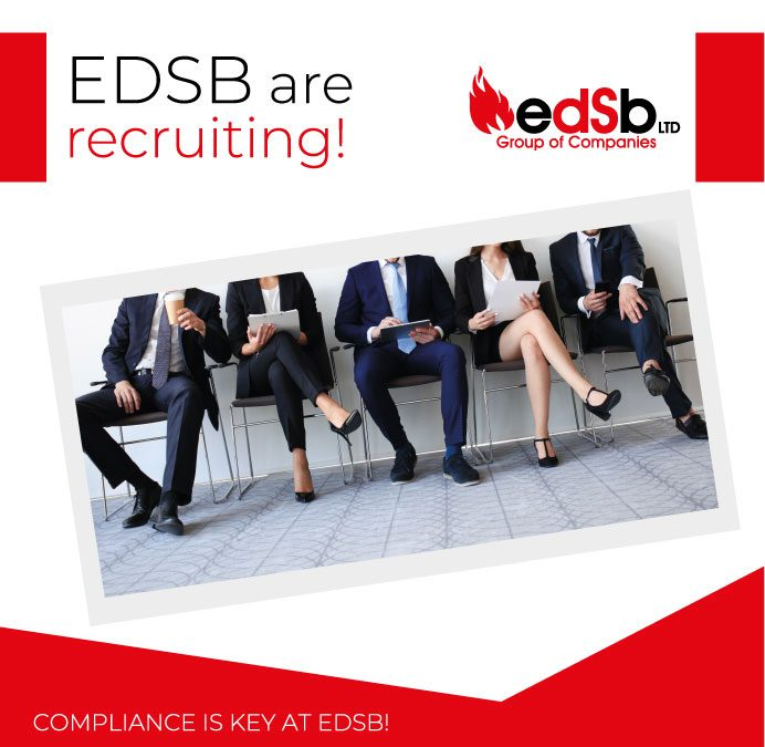 EDSB are recruiting Fire & Security Installation Engineers!