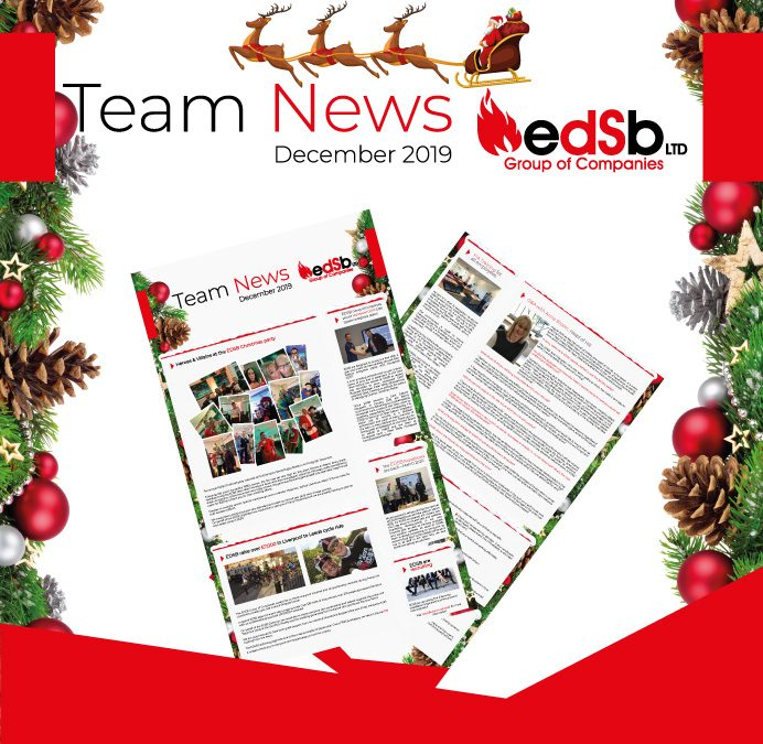EDSB December 2019 Team Newsletter