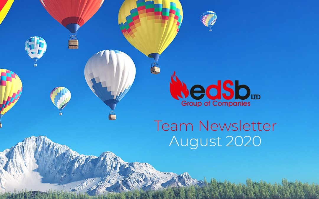 EDSB August 2020 Team Newsletter