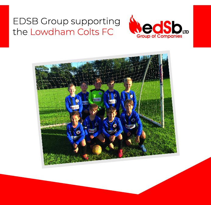 EDSB Group supporting the Lowdham Colts FC
