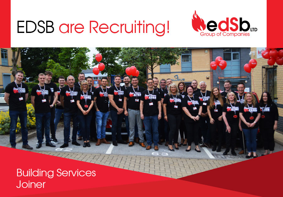 EDSB are Recruiting: Building Services Joiner