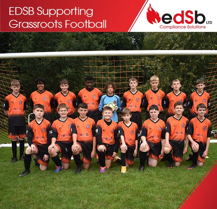 EDSB Supporting Grassroots Football